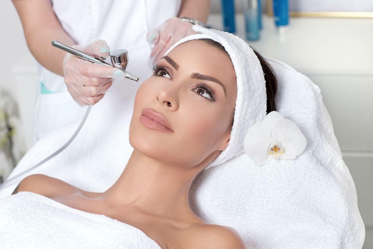 кислородна терапия за лице